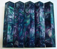 Lava Explosion Pen Blanks #26 - Mermaid's Treasure