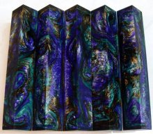 Lava Explosion Pen Blanks #28 - Purple Pago