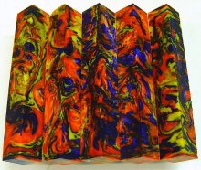 Lava Explosion Pen Blanks #35 - Chromatic Springs