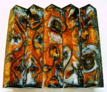 Lava Explosion Pen Blanks #42 - Golden Tiger