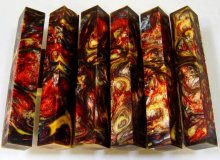 Lava Explosion Pen Blanks #08 - Alchemy