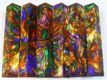 Lava Explosion Pen Blanks #09 - Full Spectrum