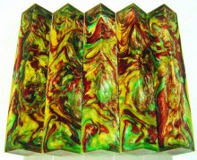 Lava Explosion Pen Blanks #45 - Golden Meadow