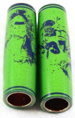 Football Pen Blank #08 - Lime & Navy - Football Pen Kits