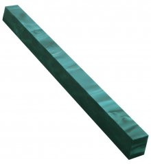 Long Pen Blank - AquaBright Blue Green Pearl 12 in.