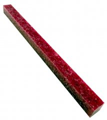 Long Pen Blank - Lava Bright Hot Pink Crush 12 in.