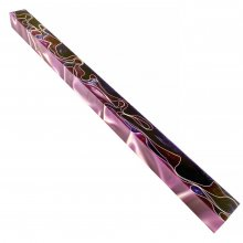Long Pen Blank - Lava Bright Purple & Lavender 12 in.