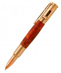 Magnum Bolt Action Pen Kit - 24kt Gold