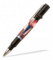 Magnum Bolt Action Pen Kit - Black Enamel