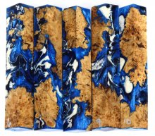 Maple Burl Hybrid Pen Blanks #06-10RR