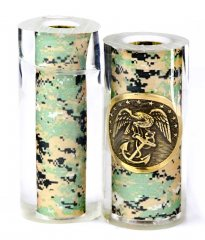 Marines Button & Camo Pen Blanks - Jr II Series