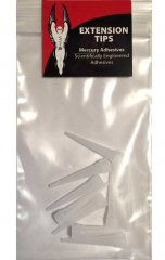 Mercury Adhesives Extension Tips - 10 Pack