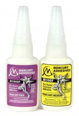 Mercury Adhesives Odorless CA Glue