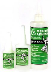 Mercury Adhesives M1100G Gap Filling (Thick) CA Glue