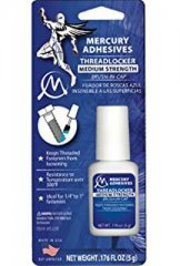 Mercury Adhesives Threadlocker - Medium