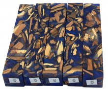 Mike's Mesquite Bits & Pieces Hybrid Pen Blanks - A31-35