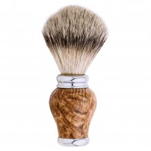 Monarch Shaving Brush Handle Kit - Chrome