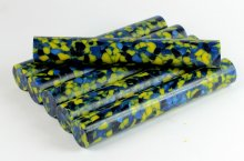 Navy Blue & Gold Acrylic Pen Blank