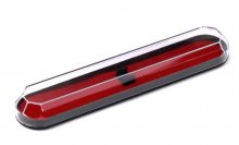Faceted Plastic Slimline Pen Box