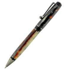 Olmsted Cigar Ballpoint Pen Kit - Gun Metal