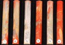 Neil's O'Nebula Pen Blanks - Pele #01-06 - Please Choose