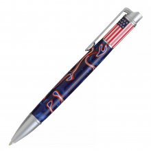 American Beauty Twist Pen Kit - Satin Chrome