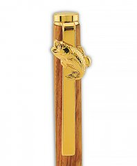 Bass Pen Clip for Slimline/Comfort Pens - 24KT Gold