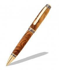 Big Ben Cigar Pen Kit - 24KT Gold & Gun Metal Two Tone
