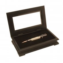 Fancy Single Pen Display Box - Black