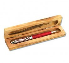 Olivewood Pen Box - Single Pen
