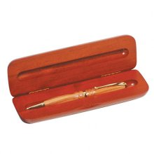 Wide Single Rosewood Pen Gift Box