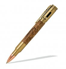 Magnum Bolt Action Pen - Antique Brass