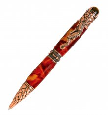 Dragon Twist Pen Kit - Antique Copper (PSI)