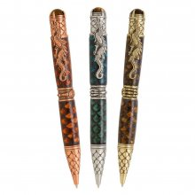 Dragon Scales Epoxy Inlay - PSI Dragon Twist Pen