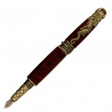 Dragon Fountain Pen Kit - Antique Brass (PSI)