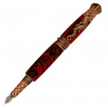 Dragon Fountain Pen Kit - Antique Copper (PSI)