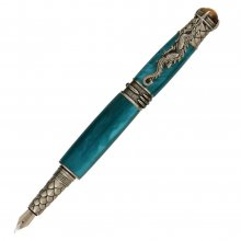 Dragon Fountain Pen Kit - Antique Pewter (PSI)
