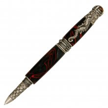Dragon Rollerball Pen Kit - Antique Pewter (PSI)