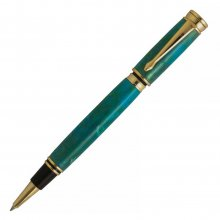 Executive Magnetic Rollerball Pen Kit - 24kt Gold