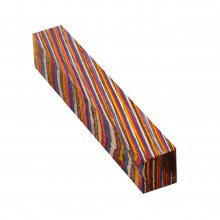 Color Grain Pen Blank - Festival Jumbo (3/4 in. x 5 in.)