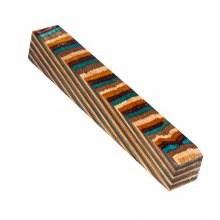 Color Grain Pen Blank - Southwest Jumbo (3/4 in. x 5 in.)