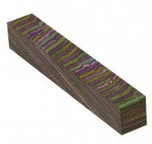 Color Grain Pen Blank - Tropical Jungle Jumbo (3/4 in. x 5 in.)