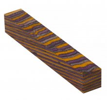 Color Grain Pen Blank - Desert Rust Jumbo (3/4 in. x 5 in.)