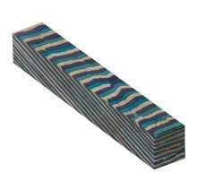 Color Grain Pen Blank - Winter Garden Jumbo (3/4 in. x 5 in.)