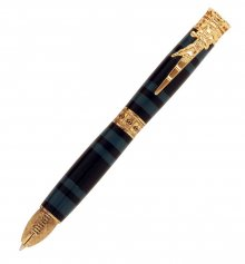 Football Ballpoint Twist Pen Kit - 24KT Gold