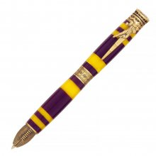 Football Ballpoint Twist Pen Kit - Antique Brass