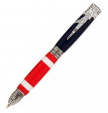 Football Ballpoint Twist Pen Kit - Chrome