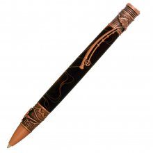 Fly Fishing Ballpoint Twist Pen Kit - Antique Copper