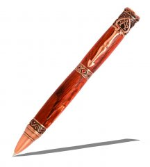 Wild Card Ballpoint Twist Pen Kit - Antique Copper