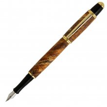 Gatsby Fountain Pen Kit - 24kt Gold